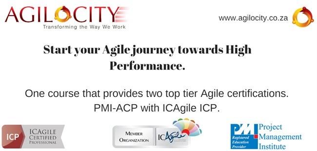 PMI-ACP and ICAgile ICP Dual Track Training