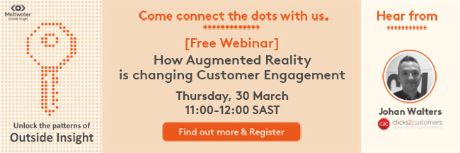 Meltwater Webinar: How Augmented Reality is changing Customer Engagement