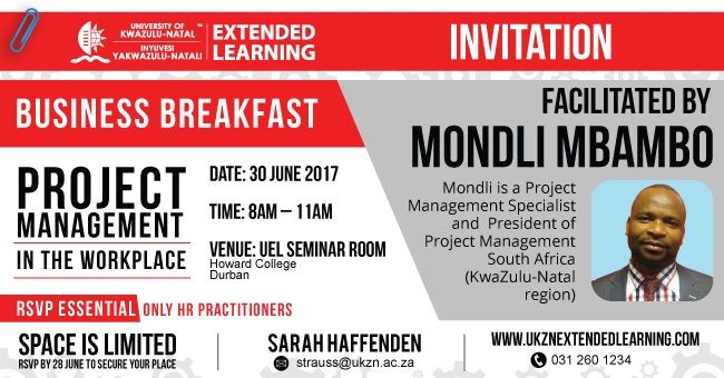 Project Management - Business Breakfast