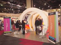 Volcano designs winning exhibition stand for Sony