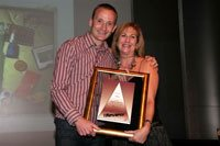 Pete Case Creative director Gloo & Anne Nurock Africa CEO Grey Worldwide. - Gloo