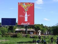 Coke side of life in Tanzania
