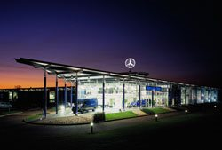 Merc's new showrooms are show-stoppers - Brand Union