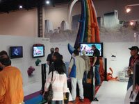 Volcano and Sony thrill the visitors at Digital Life Expo