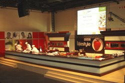 Oasys provides a model kitchen for international cooking stars