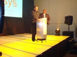 Brian Kennedy & Herman Mashaba