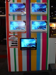 Sony's stand at the expo was extremely accessible, interactive and appealing to visitors.