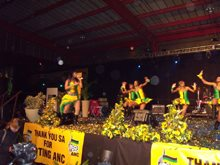 Oasys sets the stage for ANC victory party
