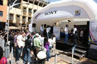 Sony brings the official 2010 FIFA World Cup Winners' Trophy to SA