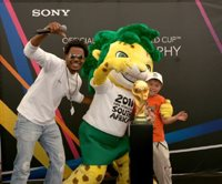Sony brings the official 2010 FIFA World Cup Winners' Trophy to SA - Volcano