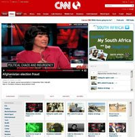 New CNN website launches