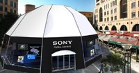 "Sony 3D experience pavilion at the ""Nelson Mandela Square"" - Volcano"