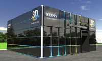 "Sony 3D experience pavilion at ""IFFF"""