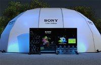 "3D experience pavilion at ""IFFF,"" Rio de Janeiro, Brazil"