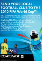 Powerade fuels excitement for the 2010 FIFA World Cup
