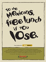 Free Nando's for Mexico - if they lose