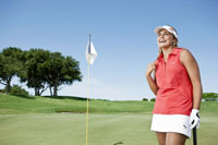 Youngest female professional golfer signs with Puma