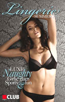 Edgars Club Magazine's first lingerie display