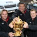 Land Rover takes to the road with RWC 2011 and RWC 2015
