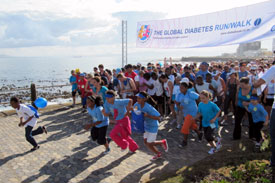Global Diabetes Run/Walk draws thousands of participants