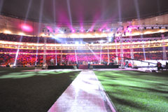 Party, praise and prayer welcomes 2011 at the FNB Stadium - Universal Church of the Kingdom of God