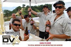 Hansa Pilsener and 34Sport team up for Dusi