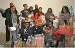 Dstv employees donate to salvation army