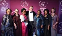 Dr Brigalia Bam / Shona McDonald / Ednah Zulu / Whitey Basson: CEO Shoprite group of companies / Rosalia Mashale /Dr Nobulembu Mwanda / Dr Elmi Muller