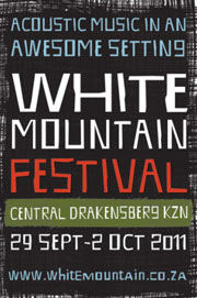 Line-up for White Mountain announced