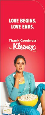 34Woman shows why you should thank goodness for Kleenex