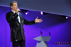 The Hoff on stage  - Gloo