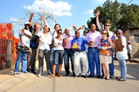 The Kraft Foods SA Candy Team and the Awethu Project Team members.