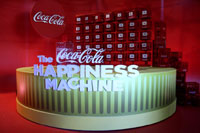 34 amp up the Coca-Cola Happiness Machine