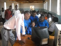 Alliance Media Malawi has donated computers and ICT training sessions to the Kachanga School