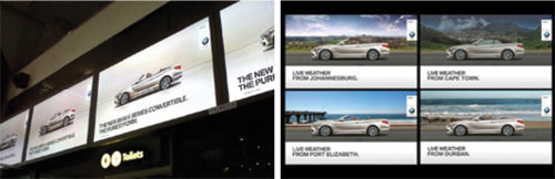 Interactive Billboards for BMW - Gloo