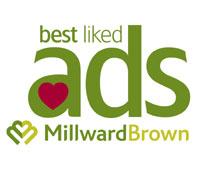 Adtrack Best Liked Ads July 2010 - June 2011 - Millward Brown