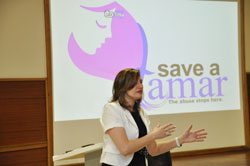 Women in Action launch 2012 Save a Tamar support group for victims of abuse - Universal Church of the Kingdom of God