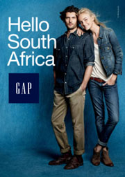 Gap Inc. hits South Africa