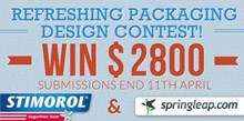 Springleap packaging design contest to refresh Stimorol