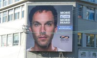 Bronx Shoes SA unveils interactive beard growing billboard