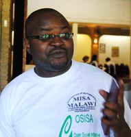 Anthony Kasunda, MISA-Malawi chairperson