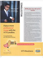 MTN withdraws adverts from CEO Magazine