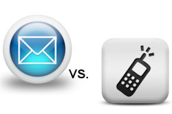 Email vs. mobile marketing: Finding the right medium for your brand's message