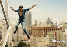 "Wrangler launches in SA with the ""Find Your Edge"" campaign"