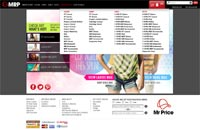 MRP website navigation