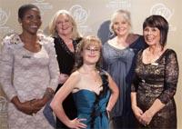 Nyeleti Mushwana, Margi Biggs, Sheri Brynard (front), Tina Botha and Marisa van der Merwe.