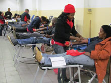 UCKG members in the Pretoria area commit to becoming regular blood donors