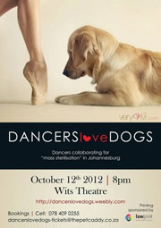 Dance for dogs