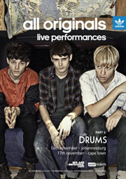 The Drums play SA