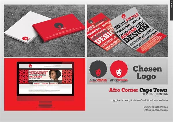 Afro Corner Corporate Branding